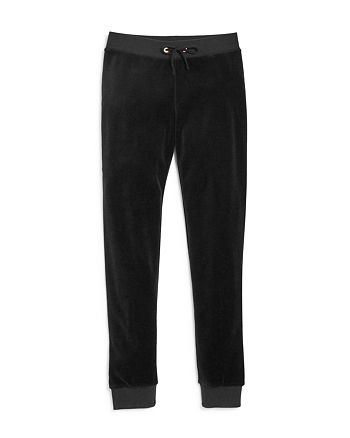 Juicy Couture Black Label - Girls' Zuma Velour Jogger Pants, Big Kid - 100% Exclusive
