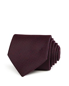 John Varvatos Star USA Textured Solid Classic Tie - Bloomingdale's_0