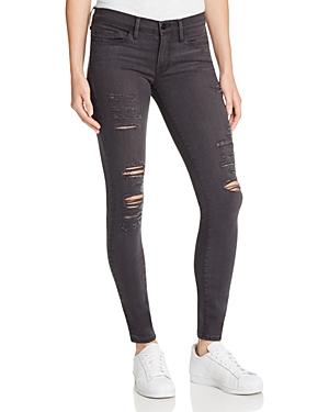 Frame Le Skinny Satine Rip Jeans in St. Quintin Shred