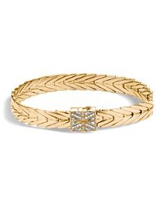 John Hardy 18K Yellow Gold Modern Chain Bracelet with Diamonds - Bloomingdale's_0