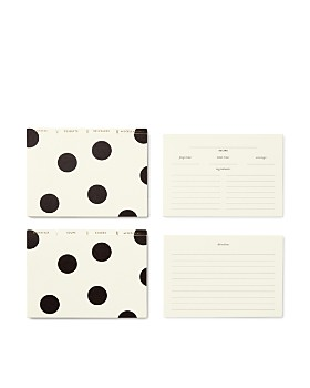 kate spade new york - Deco Dot Recipe Box