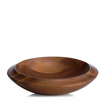 Nambé - SKYE Wood Centerpiece