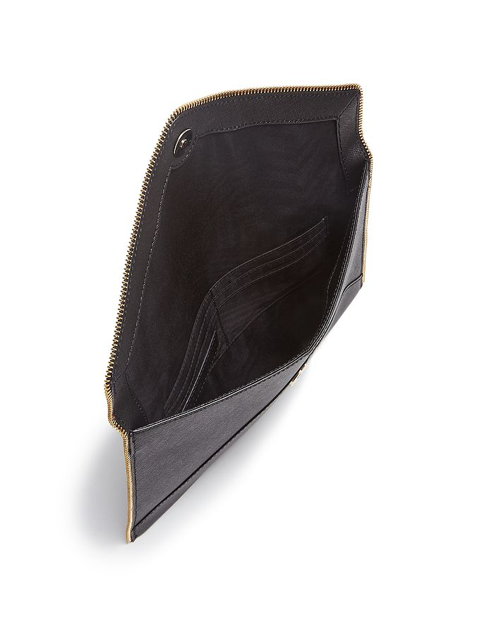 813d09c2b8c3 Rebecca Minkoff - Leo Saffiano Leather Clutch