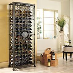 Wine Enthusiast 96 Bottle Wine Jail - Bloomingdale's_0
