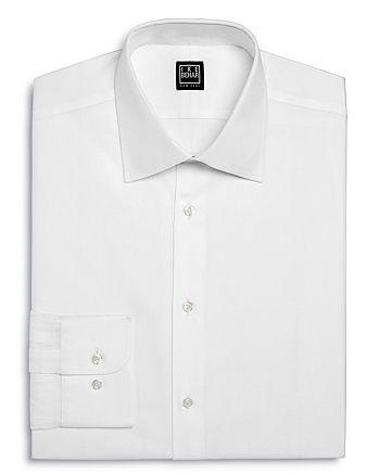 Ike Behar - Twill Solid Regular Fit Dress Shirt