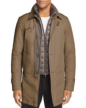 Herno Layered Down Trench Coat - 100% Exclusive