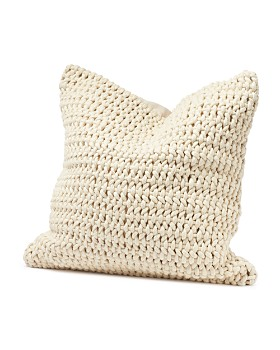 "Coyuchi - Organic Cotton Woven Rope Decorative Pillow, 22"" x 22"""