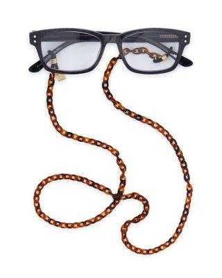 Women'S Tortoise-Print Glasses Chain, 29 in Tortoise Gold