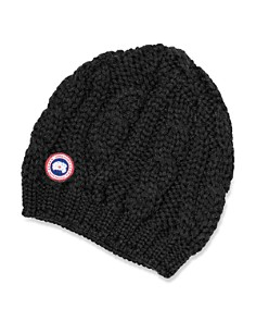 Canada Goose Cable-Knit Beanie Hat - Bloomingdale's_0