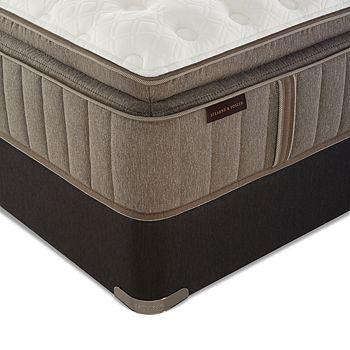 Stearns & Foster - Bridlegate Luxury Plush Euro Pillow Top King Mattress & Box Spring Set - 100% Exclusive