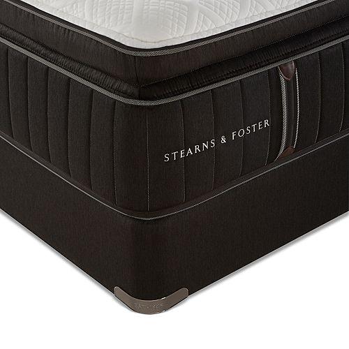 Stearns & Foster - Cincinnatian Luxury Cushion Firm Euro Pillow Top Full Mattress Only - 100% Exclusive
