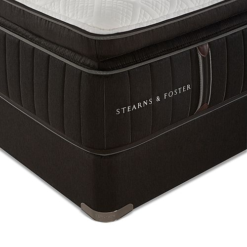 Stearns & Foster - Welsh Hills Luxury Plush Euro Pillow Top Twin XL Mattress Only - 100% Exclusive