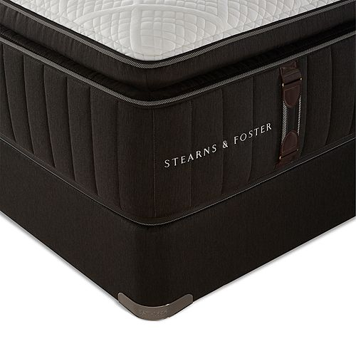 Stearns & Foster - Reserve No. 1 Luxury Ultra Plush Euro Pillow Top Queen Mattress & Box Spring Set