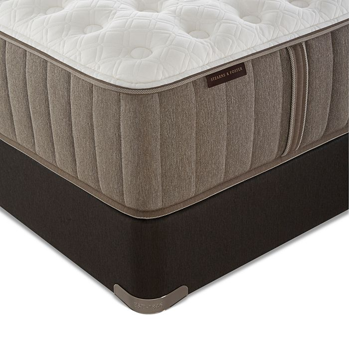 Stearns & Foster - Aronoff Luxury Plush King Mattress & Box Spring Set - 100% Exclusive