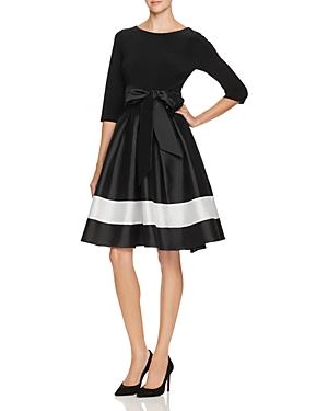 Adrianna Papell Mixed Media Dress