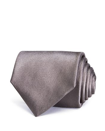 Turnbull & Asser - Satin Solid Wide Tie