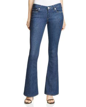 True Religion Karlie Flare Jeans in Body Rinse