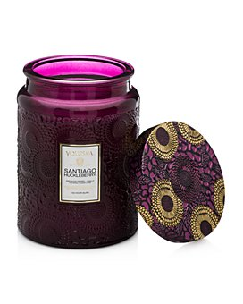 Voluspa - Voluspa Japonica Santiago Huckleberry Large Glass Candle