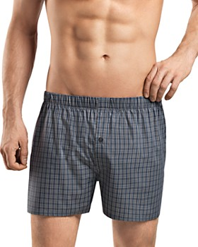 Hanro - Fancy Check Woven Boxers