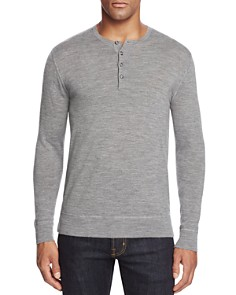 The Men's Store at Bloomingdale's - Merino Wool Henley - 100% Exclusive