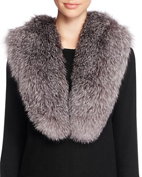 Surell - Fox Fur Stole Scarf - 100% Exclusive