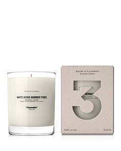 Baxter of California White Wood Number Three Candle - Bloomingdale's_0