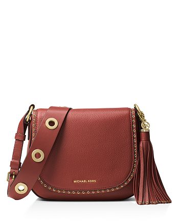MICHAEL Michael Kors Brooklyn Medium Saddle Bag | Bloomingdale's
