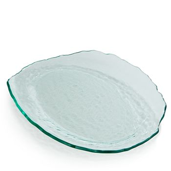 Annieglass - Salt Medium Oval Tray