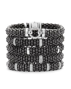 LAGOS Black Caviar Ceramic Bracelets with Sterling Silver - Bloomingdale's_0