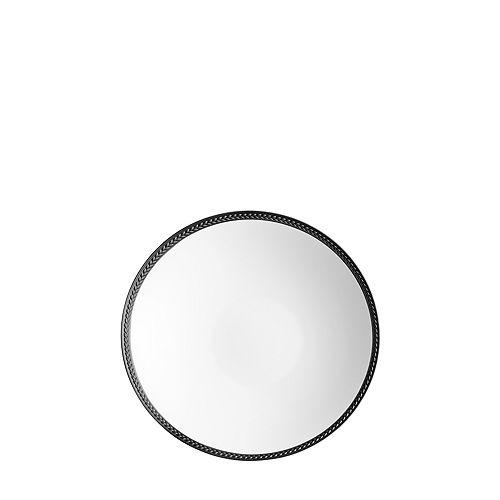 L'Objet - Soie Tressee Black Soup Plate