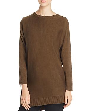 Love Scarlett Zip Back Tunic Sweater