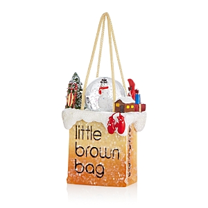 Bloomingdale's Little Brown Bag Snowman Ornament - 100% Exclusive