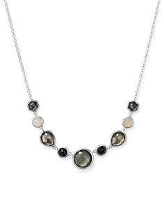 IPPOLITA - Sterling Silver Rock Candy® Necklace in Black Tie, 16""