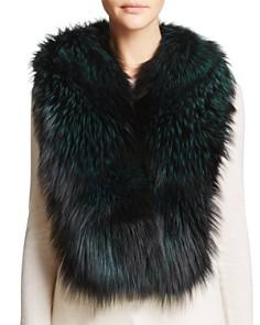 Maximilian Furs Airgallon Fox Fur Scarf - Bloomingdale's_0