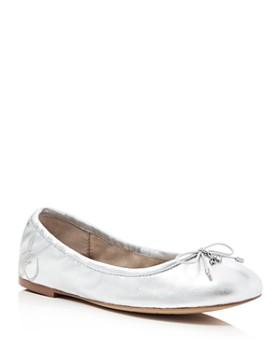 Sam Edelman - Felicia Metallic Ballet Flats
