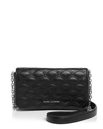 d86a1b711dd69 MARC JACOBS Matelasse Wallet On Chain Crossbody | Bloomingdale's
