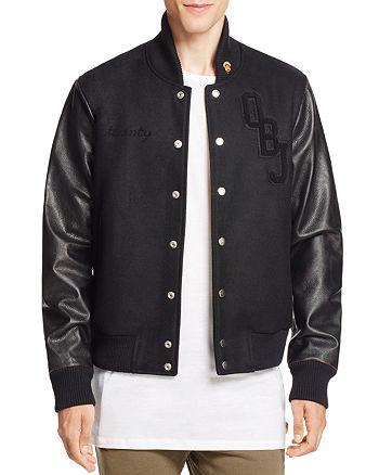 twenty tees - Odell Beckham Jr. 13 x twenty Collection Leather Sleeve Varsity Jacket - 100% Exclusive
