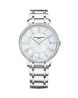 Baume & Mercier Classima Diamond Watch, 36.5mm
