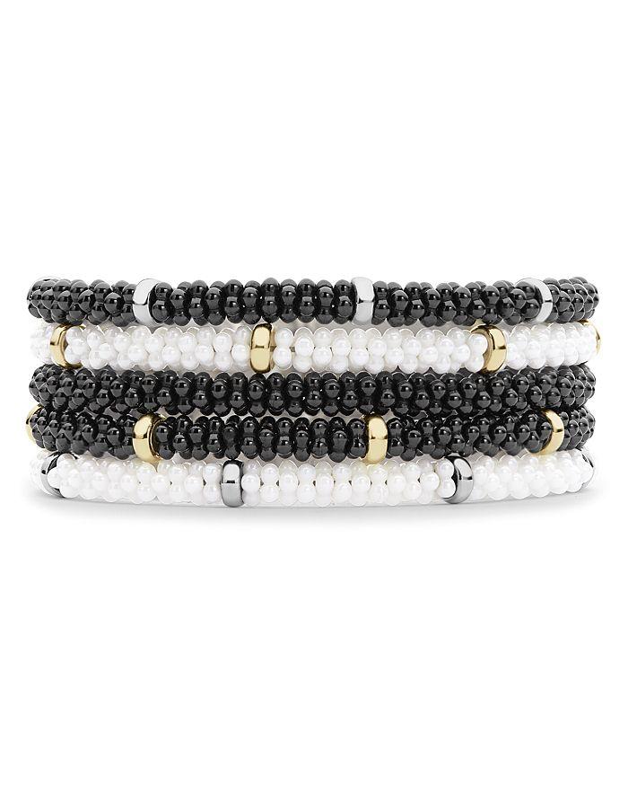 LAGOS - Caviar Beaded Ceramic Bracelets