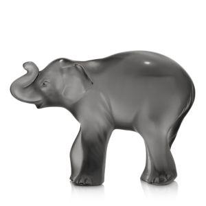 Lalique Gray Timora Elephant