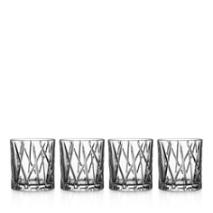 Orrefors - City Old Fashioned Glass, Set of 4