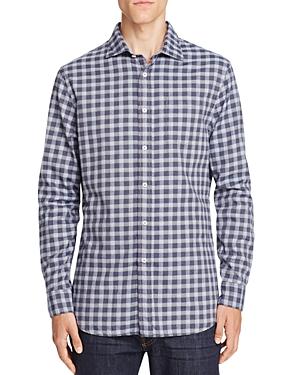 Jachs Ny Madison Check Slim Fit Button-Down Shirt