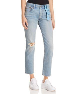 Chiara Ferragni x Levi's 501 Bandana Boyfriend Jeans in Chiara