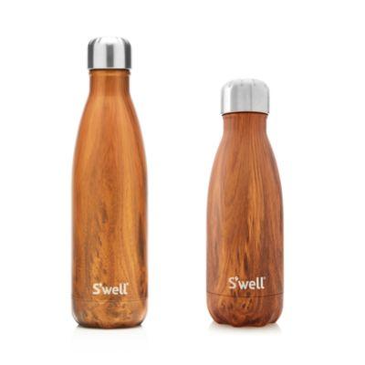 Teakwood Bottle, 17 oz.