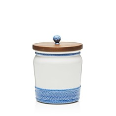 "Juliska Le Panier Canister with Wooden Lid, 7.5"" - Bloomingdale's_0"