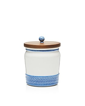 Juliska - Le Panier Canister with Wooden Lid, 7.5""