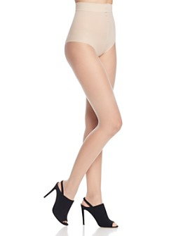 Donna Karan - Nude Toeless Control Top Tights
