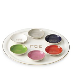 kate spade new york Oak Street 7- Piece Seder Plate - Bloomingdale's Registry_0