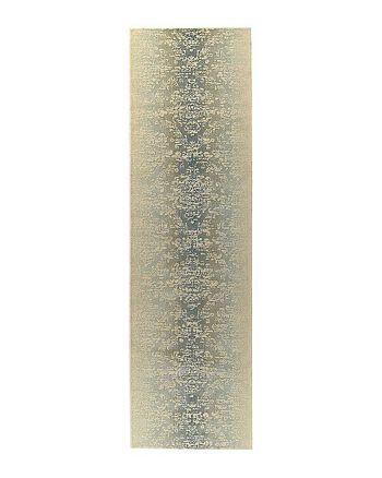 "Nourison - Luminance Runner Rug - Sea Mist, 2'3"" x 8'"