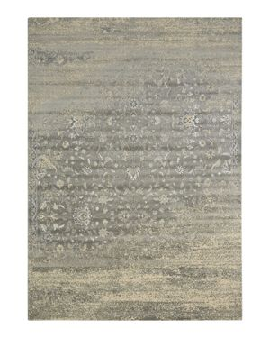 Nourison Luminance Rug - Silver, 5'3 x 7'5